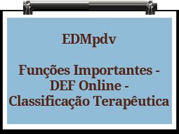 edmpdv-funcoesimportantes-defonline-classificacaoterapeutica